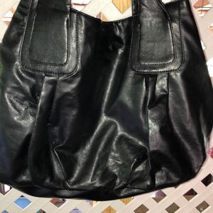 Lulu NYC Large shoulder bag pvc and nylon lining